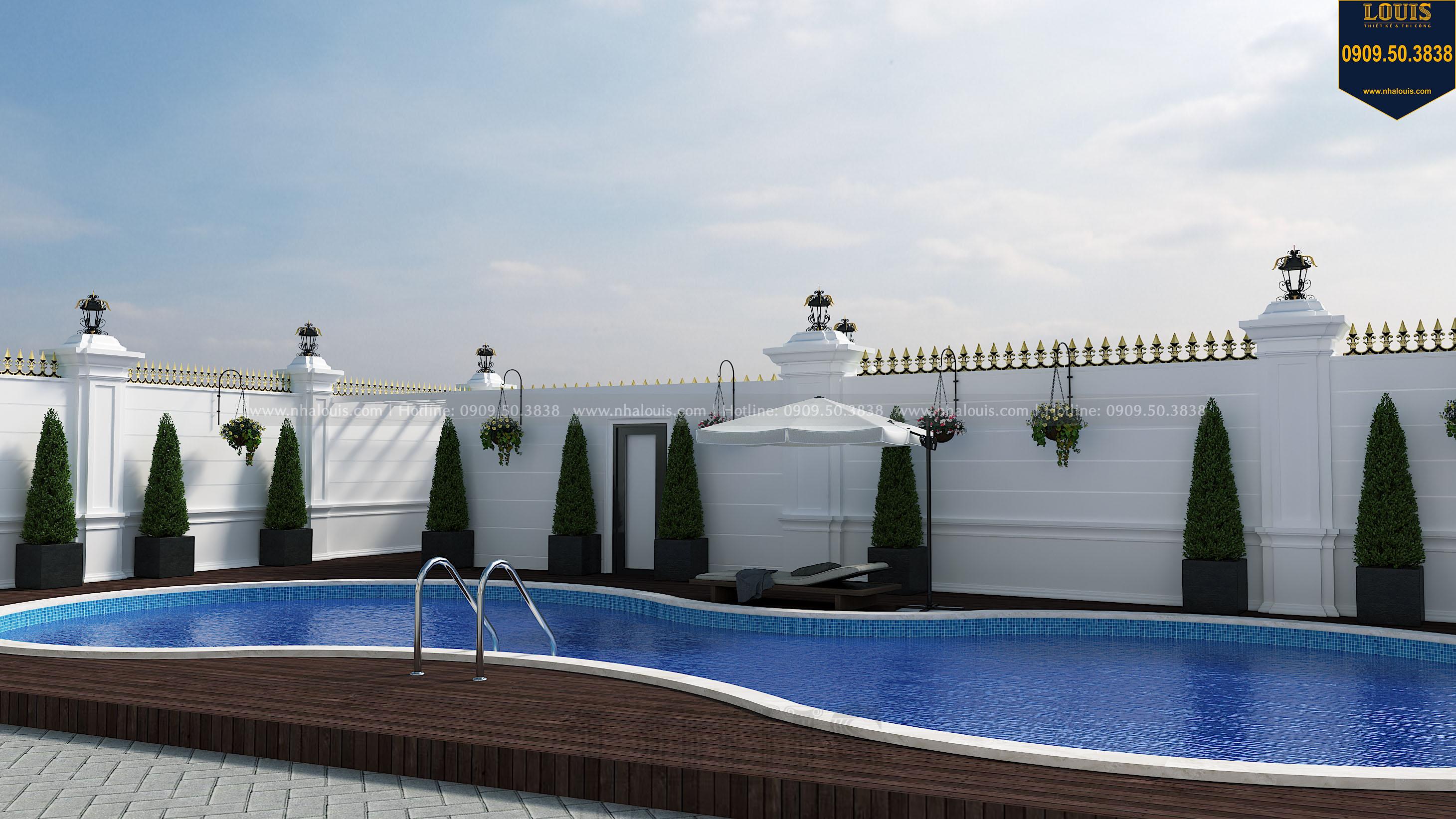 mẫu hồ bơi cho biệt thự