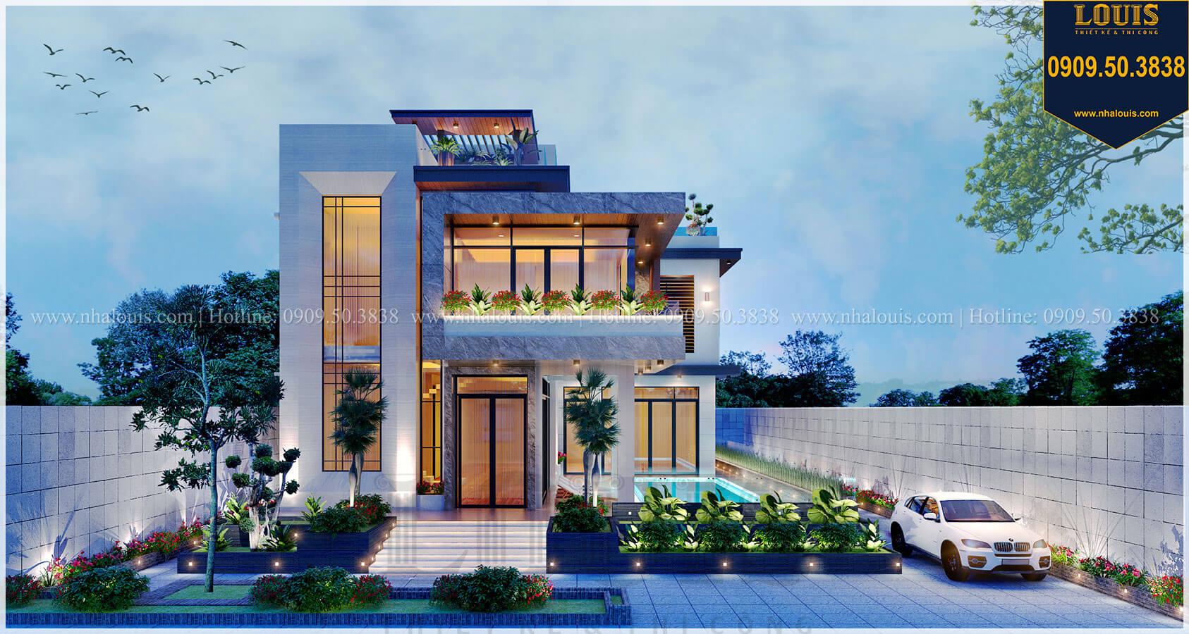Những mẫu nhà biệt thự 2 tầng đẹp đón đầu xu hướng mới