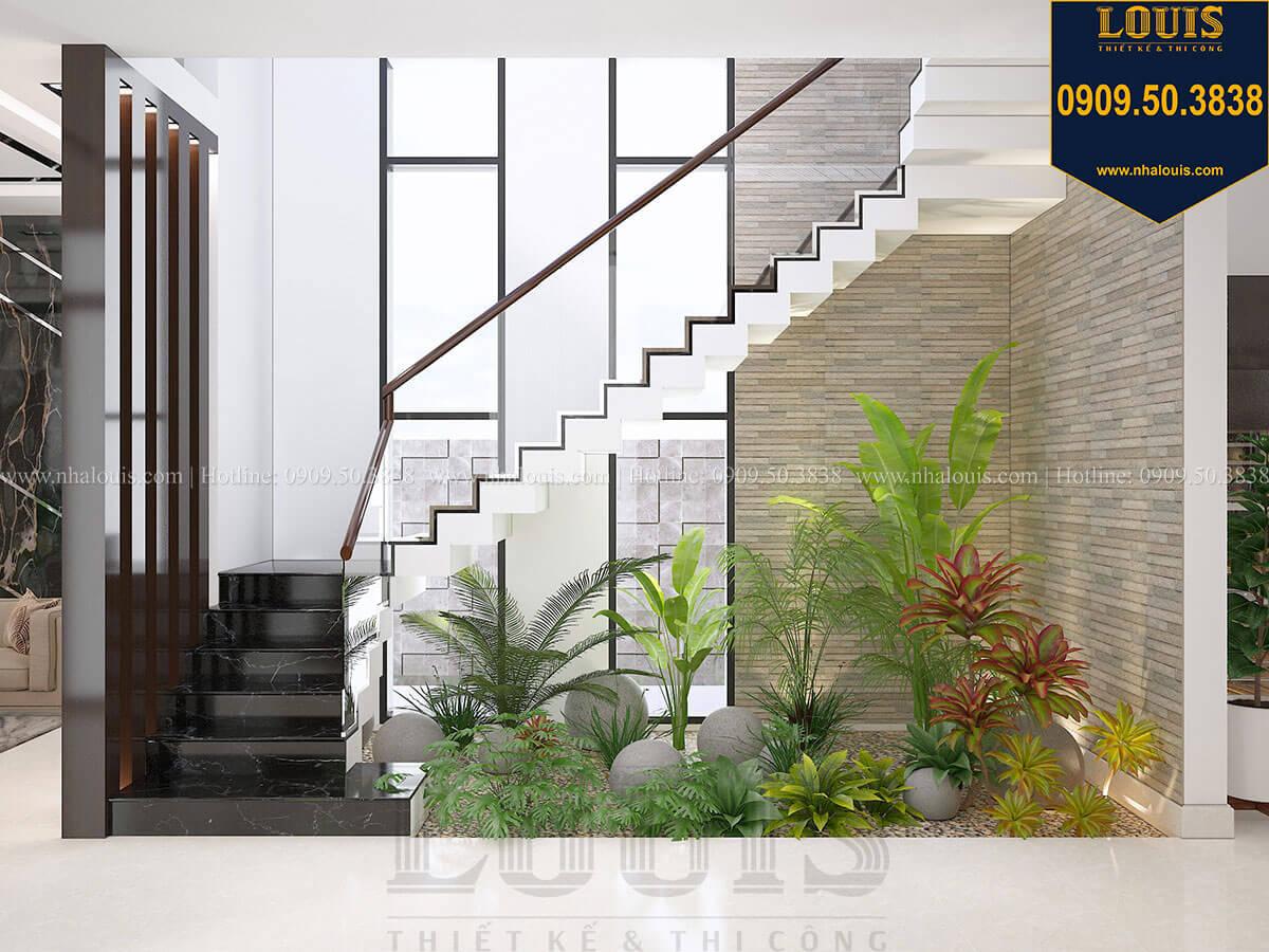 Cầu thang Biệt thự 2 tầng hiện đại mặt tiền 13.5m sang chảnh tại Kiên Giang - 21