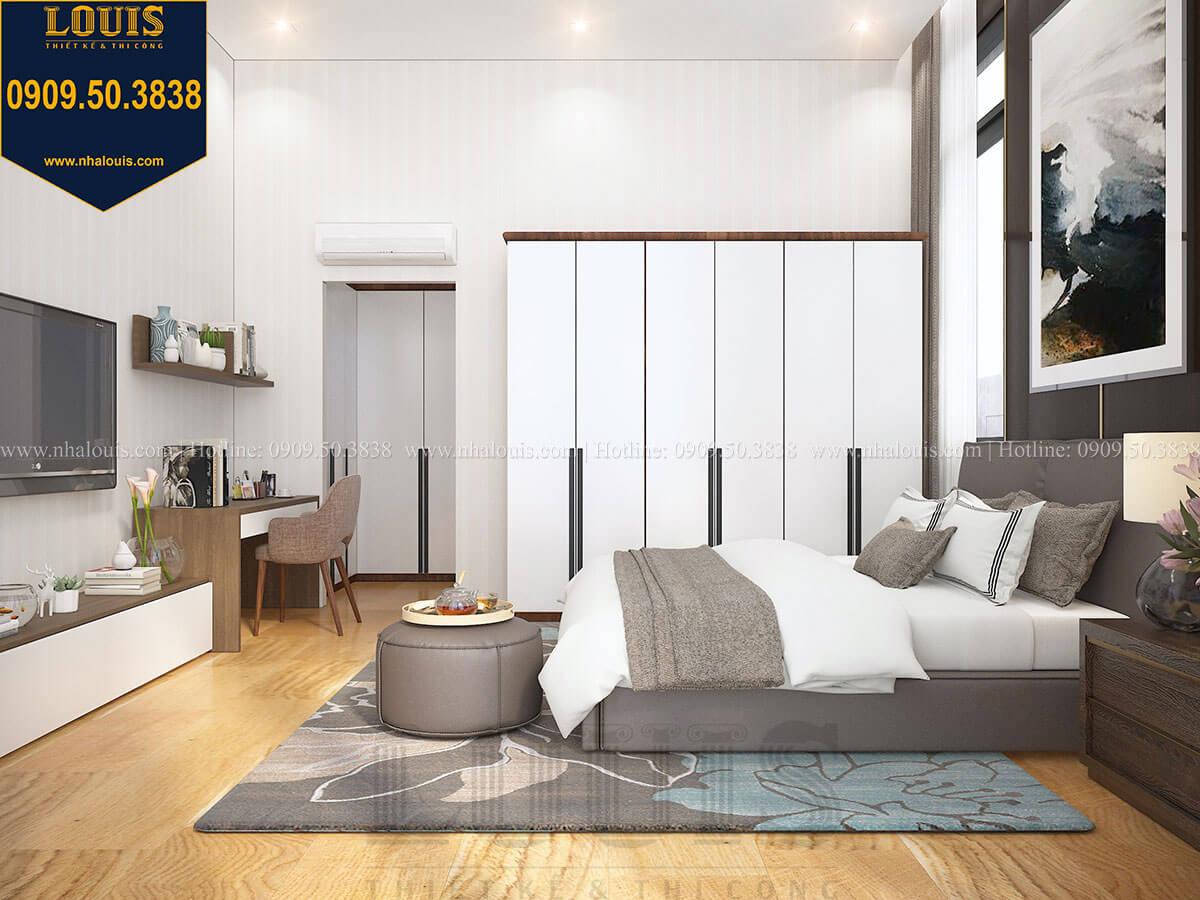 Phòng ngủ ông bà Biệt thự 2 tầng hiện đại mặt tiền 13.5m sang chảnh tại Kiên Giang - 25
