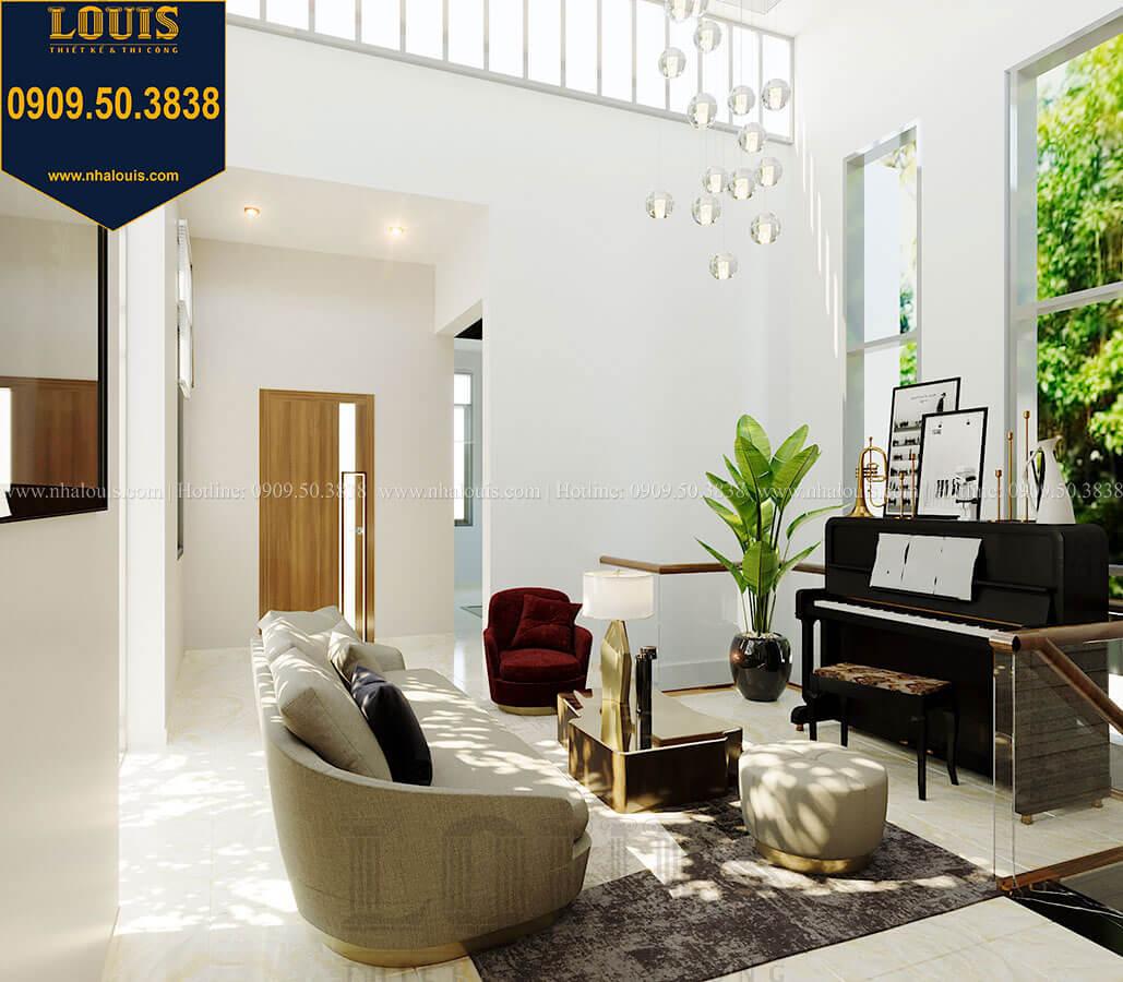 Phòng sinh hoạt chung Biệt thự 2 tầng hiện đại mặt tiền 13.5m sang chảnh tại Kiên Giang - 27