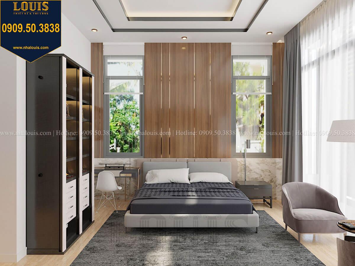 Phòng ngủ master Biệt thự 2 tầng hiện đại mặt tiền 13.5m sang chảnh tại Kiên Giang - 30