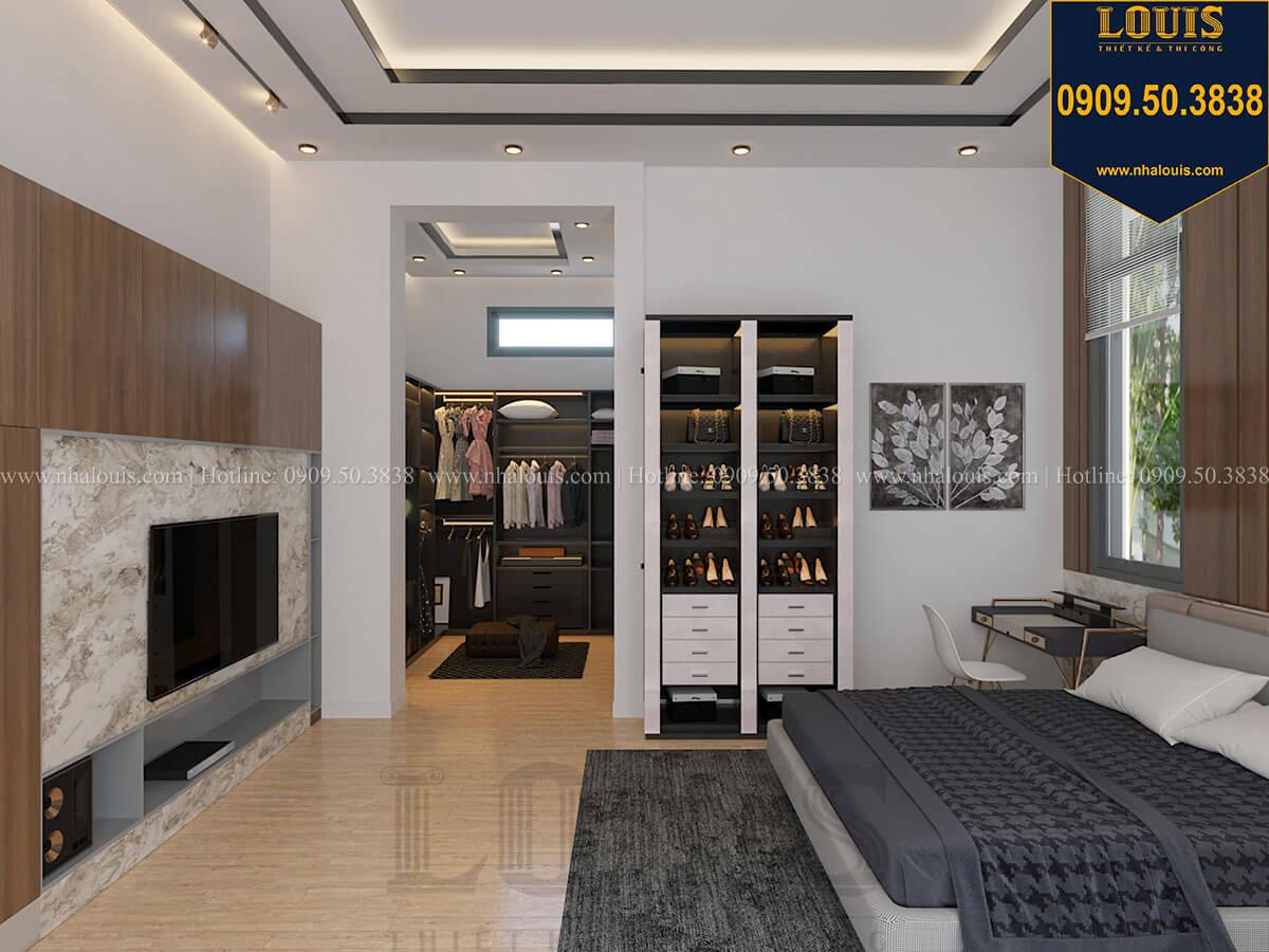 Phòng ngủ master Biệt thự 2 tầng hiện đại mặt tiền 13.5m sang chảnh tại Kiên Giang - 34