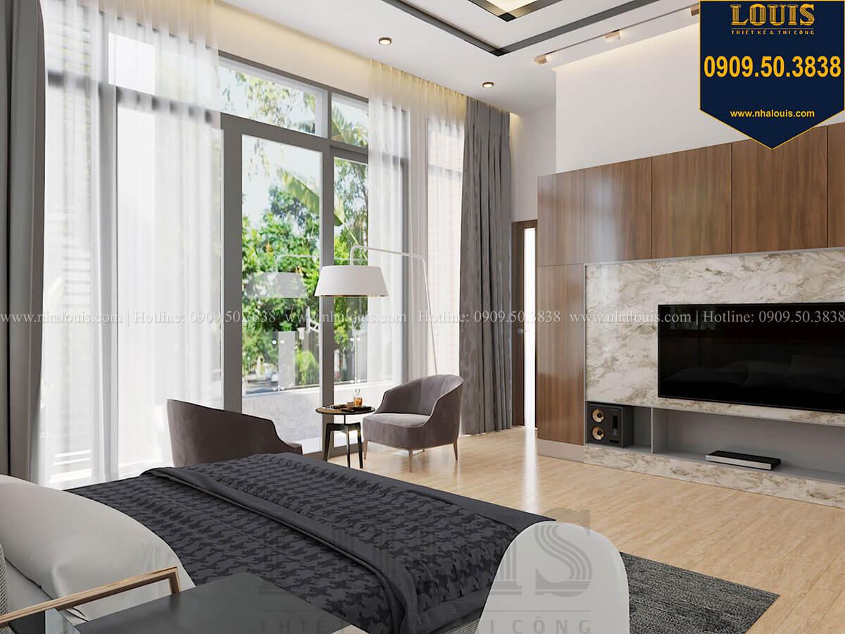 Phòng ngủ master Biệt thự 2 tầng hiện đại mặt tiền 13.5m sang chảnh tại Kiên Giang - 36