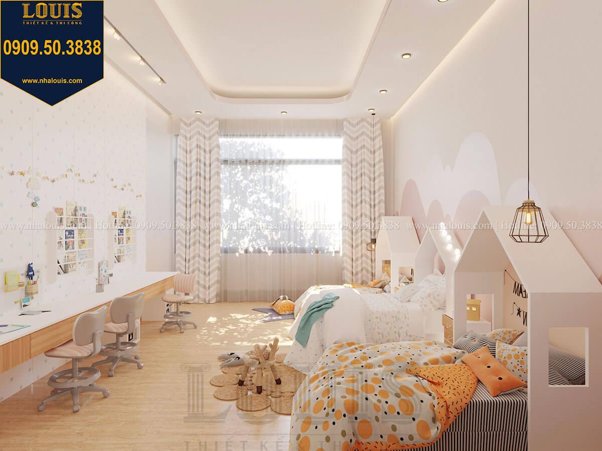 Phòng ngủ bé gái Biệt thự 2 tầng hiện đại mặt tiền 13.5m sang chảnh tại Kiên Giang - 42