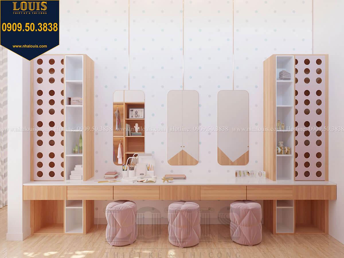 Phòng ngủ bé gái Biệt thự 2 tầng hiện đại mặt tiền 13.5m sang chảnh tại Kiên Giang - 44