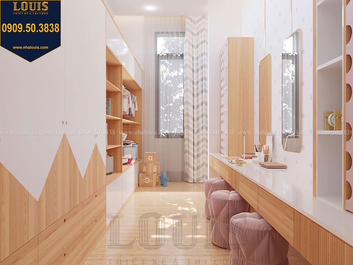 Phòng ngủ bé gái Biệt thự 2 tầng hiện đại mặt tiền 13.5m sang chảnh tại Kiên Giang - 46