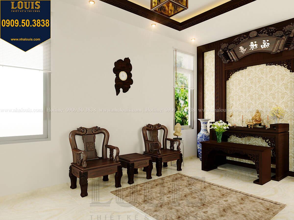 Phòng thờ Biệt thự 2 tầng hiện đại mặt tiền 13.5m sang chảnh tại Kiên Giang - 48