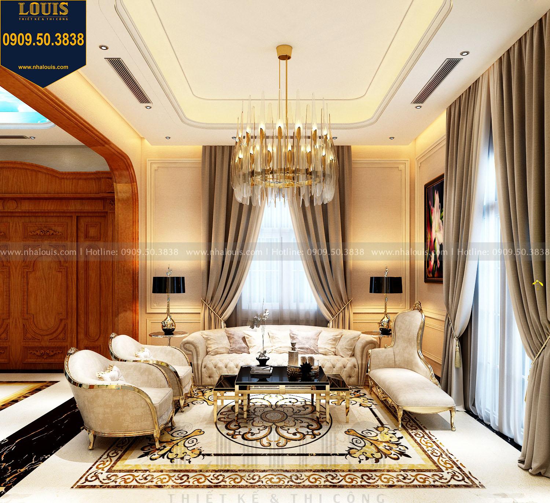 Phòng khách biệt thự view 1