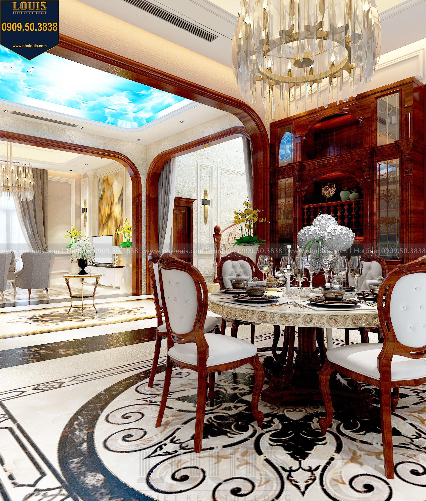 Phòng ăn biệt thự view 03