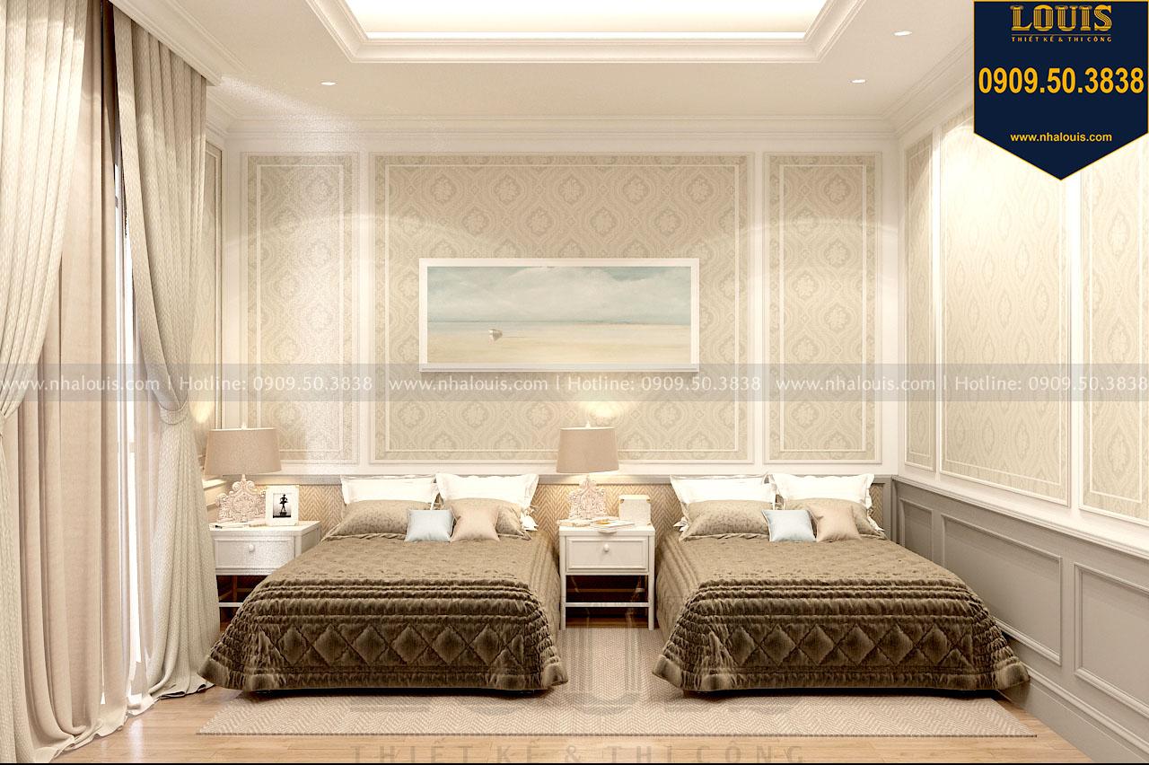 Phòng ngủ biệt thự 3 tầng view 01