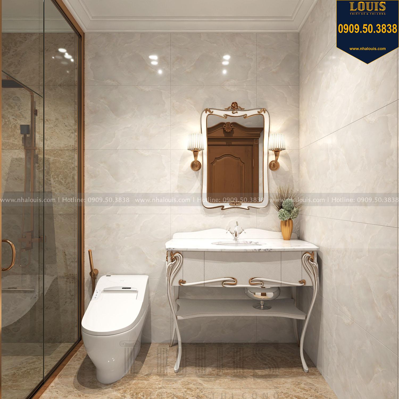 Nhà tắm và WC biệt thự 3 tầng view 01