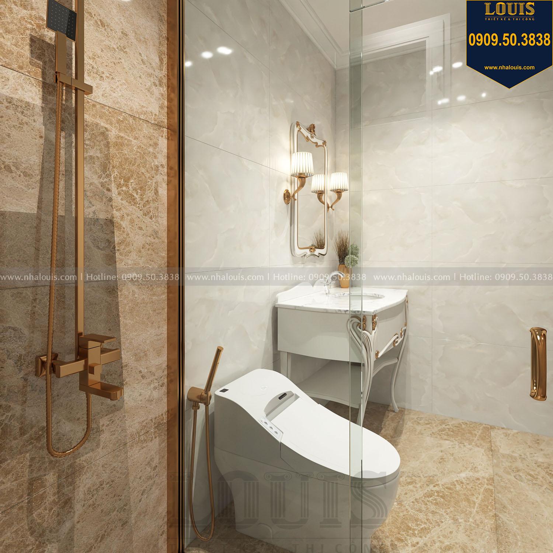 Nhà tắm và WC biệt thự 3 tầng view 02