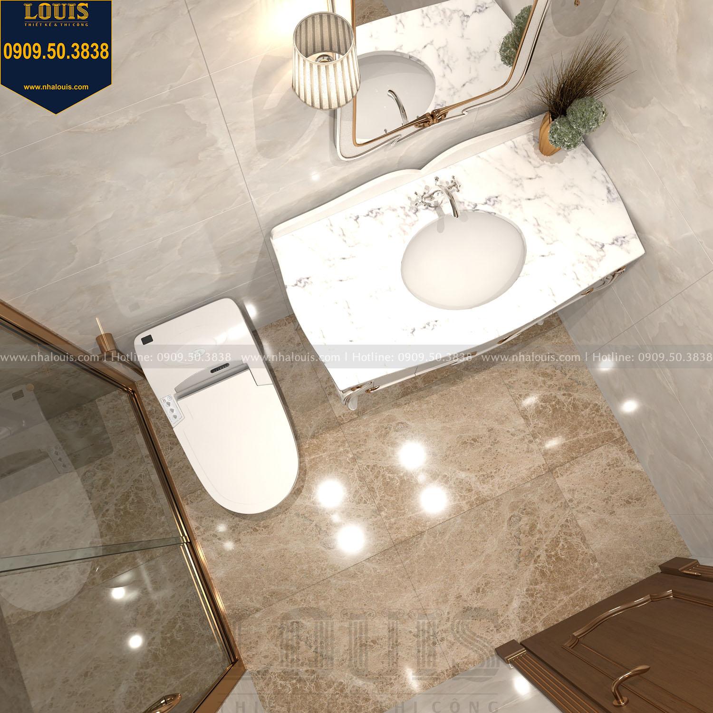 Nhà tắm và WC biệt thự 3 tầng view 03