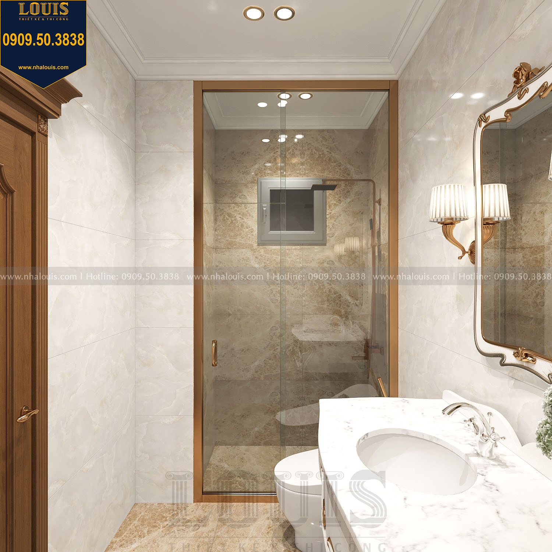 Nhà tắm và WC biệt thự 3 tầng view 04
