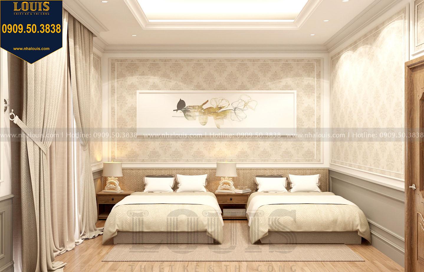 mẫu phòng ngủ biệt thự tân cổ điển