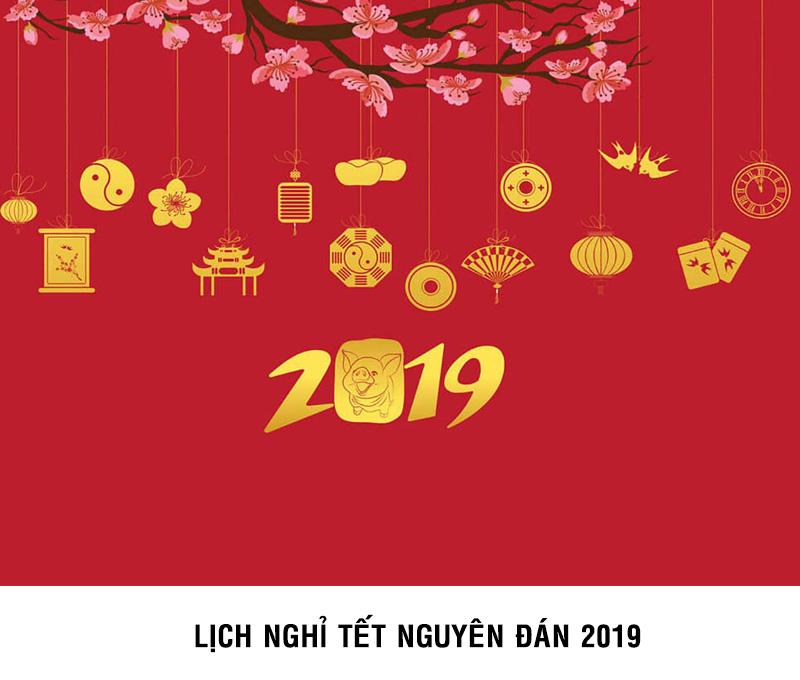 Thông báo lịch nghỉ Tết Nguyên Đán 2019 của công ty LOUIS