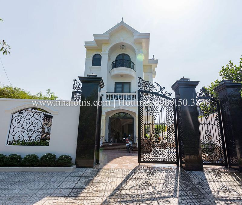 Dự án thi công biệt thự 3 tầng đẹp có sân vườn ở Đồng Nai