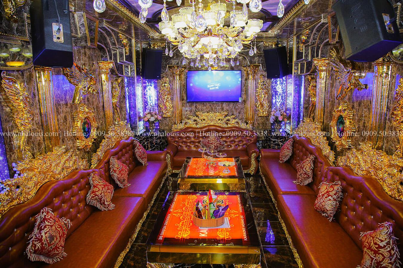 Thiết kế karaoke 5 tầng đẳng cấp sang trọng tại Long An