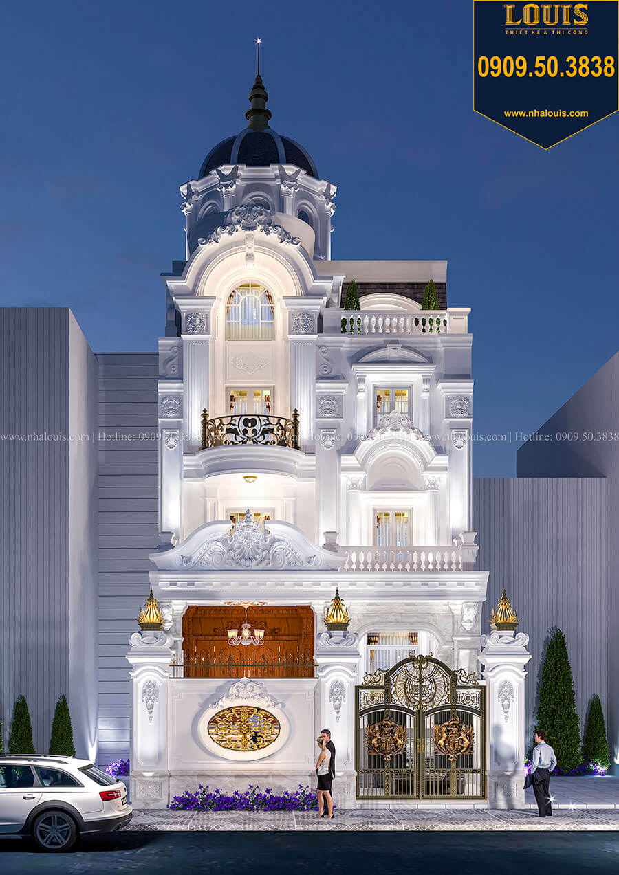 Hé lộ top 30+ mẫu thiết kế biệt thự đẹp và sang trọng