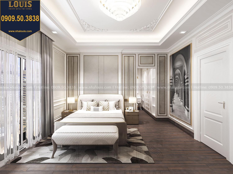 Biệt thự 5 tầng cổ điển đẹp hút mắt tại Quận Tân Phú