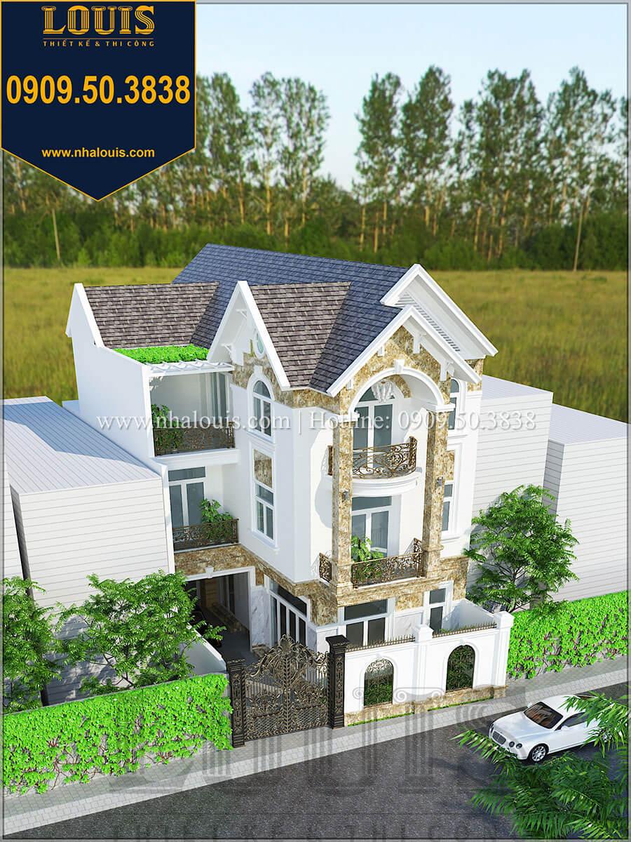 Biệt thự mặt tiền 10m với mái Thái cực chất tại Quận 7