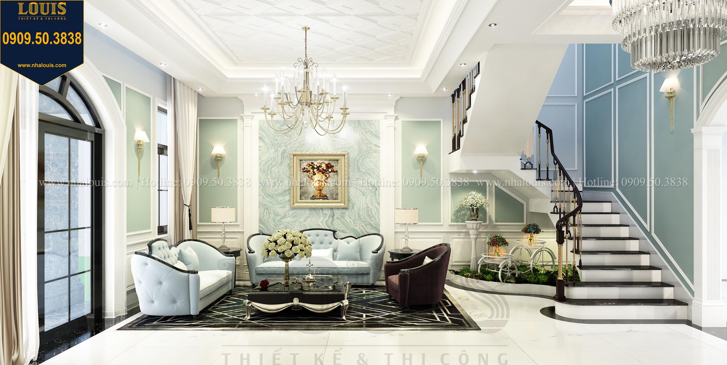 Công ty thiết kế nội thất biệt thự kiểu Pháp