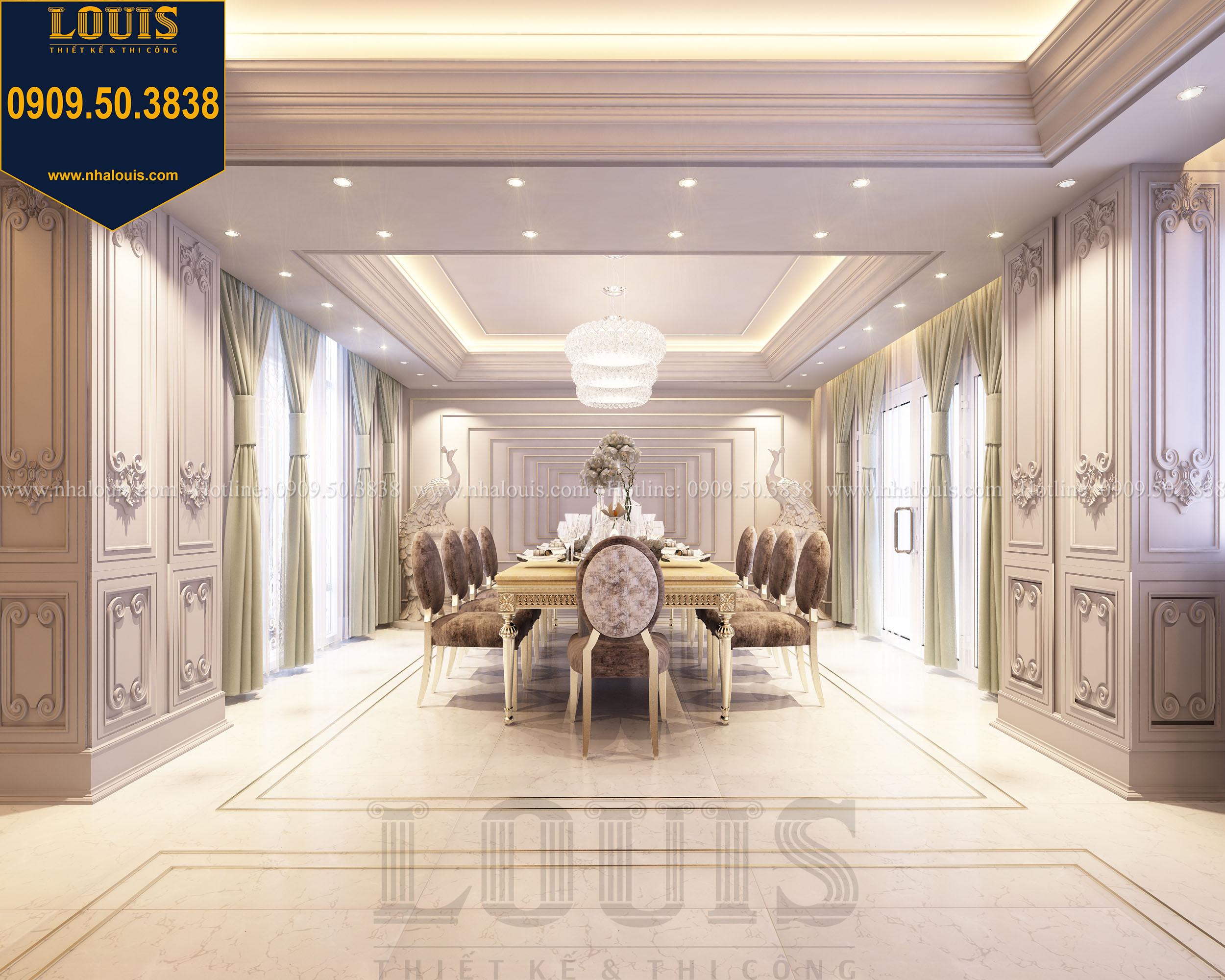 Công ty thiết kế nội thất biệt thự tân cổ điển