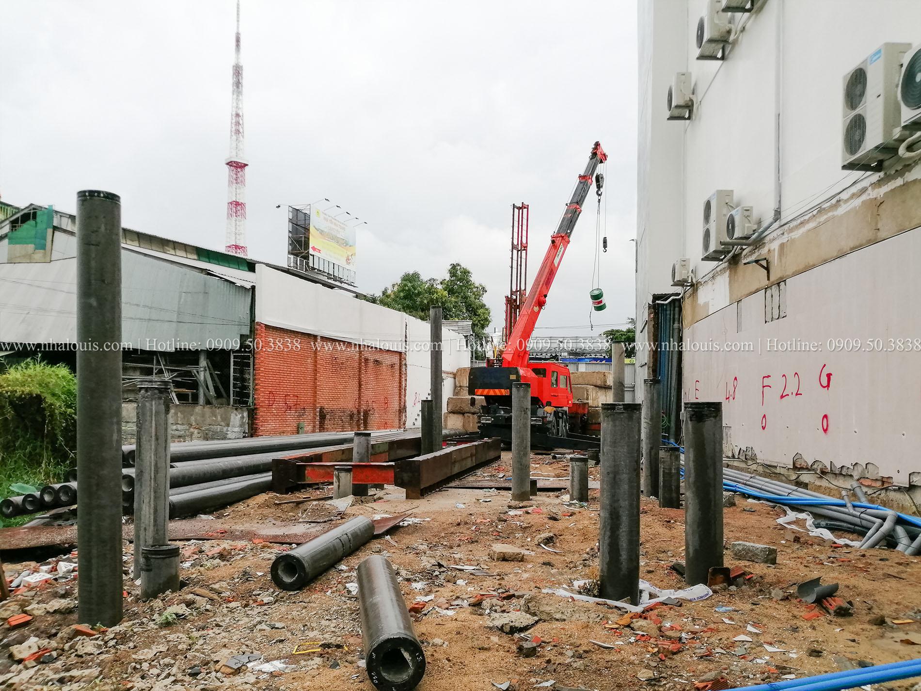 Khởi công biệt thự 5 tầng hiện đại tại Nha Trang