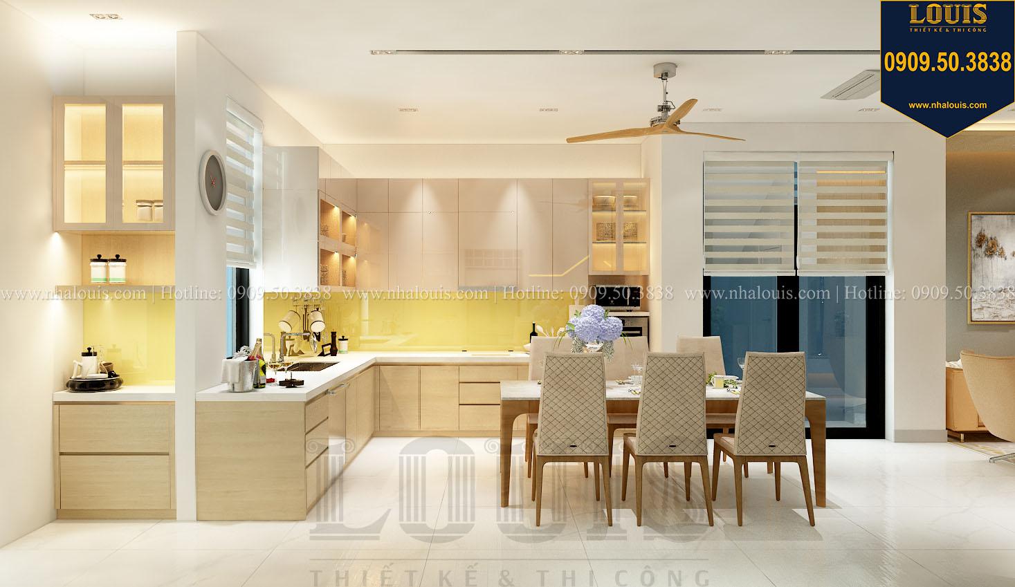 Phòng bếp Thiết kế nội thất biệt thự phong cách hiện đại và đẳng cấp tại Quận 9 - 05