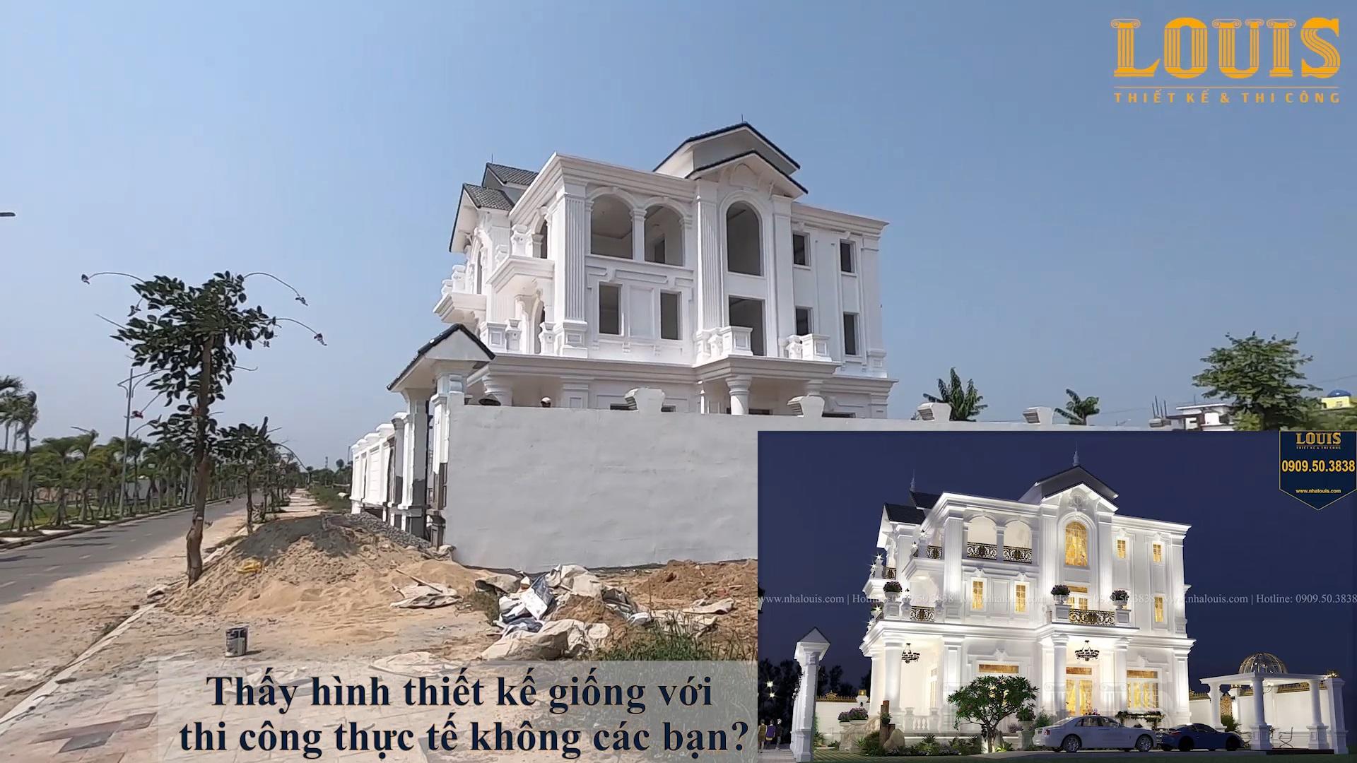 Tham quan 3 công trình biệt thự của LOUIS thiết kế và thi công tại Quảng Ngãi
