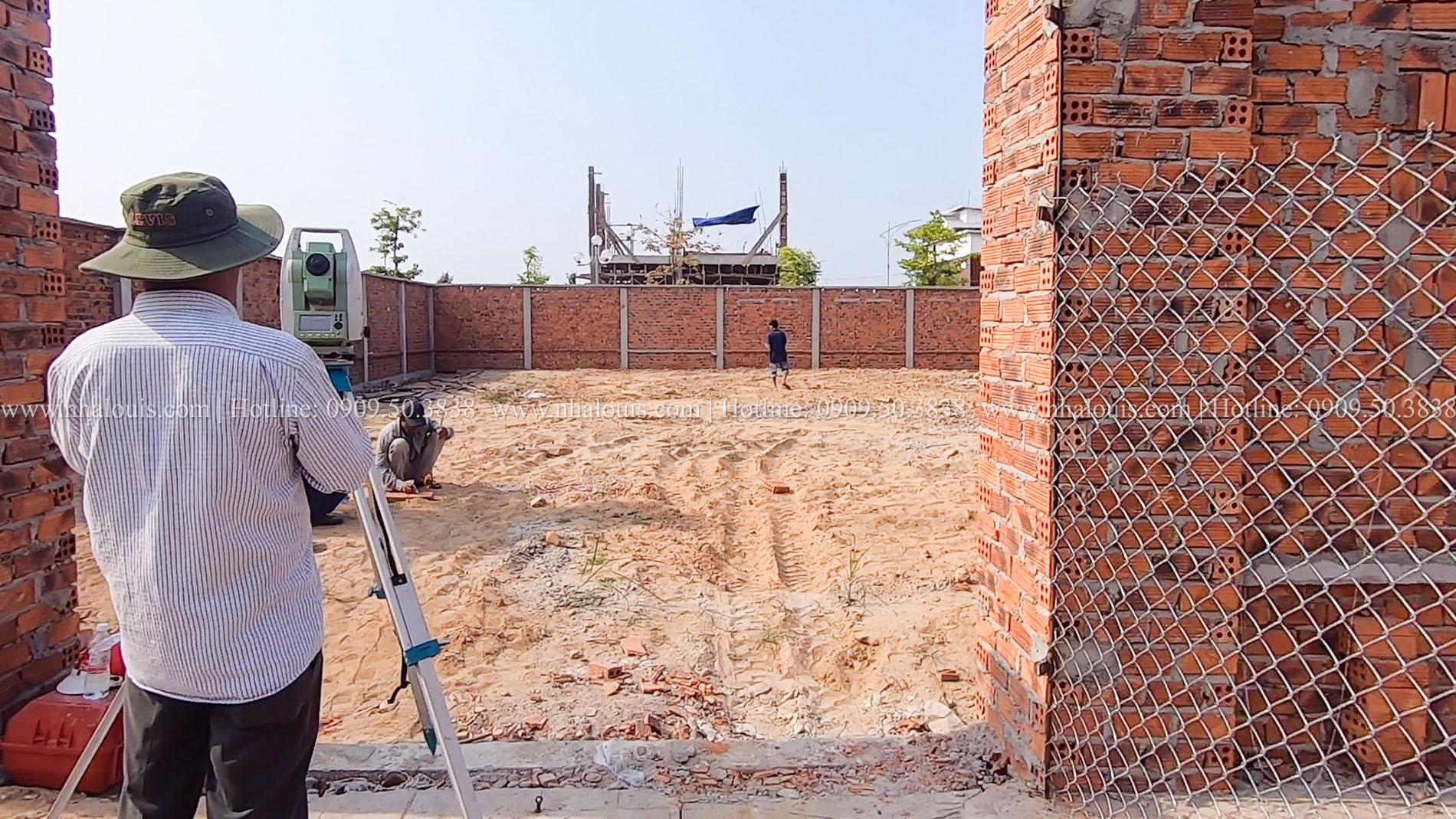 Khởi công xây dựng biệt thự tân cổ điển 3 tầng xa hoa tại Quảng Ngãi