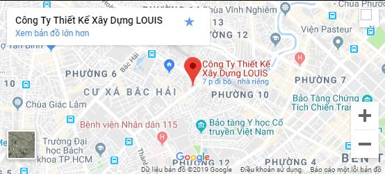 Địa chỉ bản đồ Louis