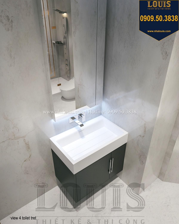 Nhà tắm và WC trệt