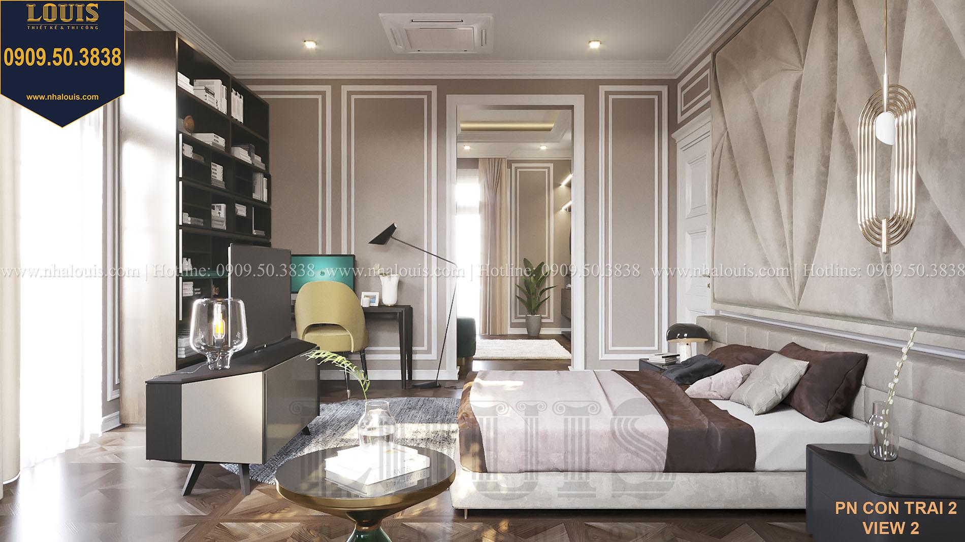 Phòng ngủ biệt thự nội thất Ý