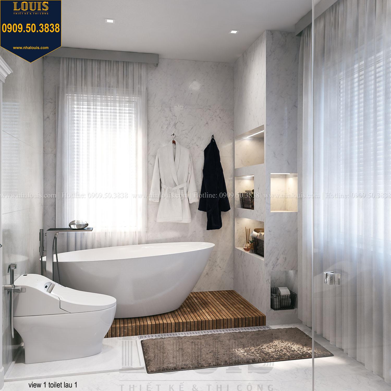 thiết kế Nhà tắm và WC cao cấp