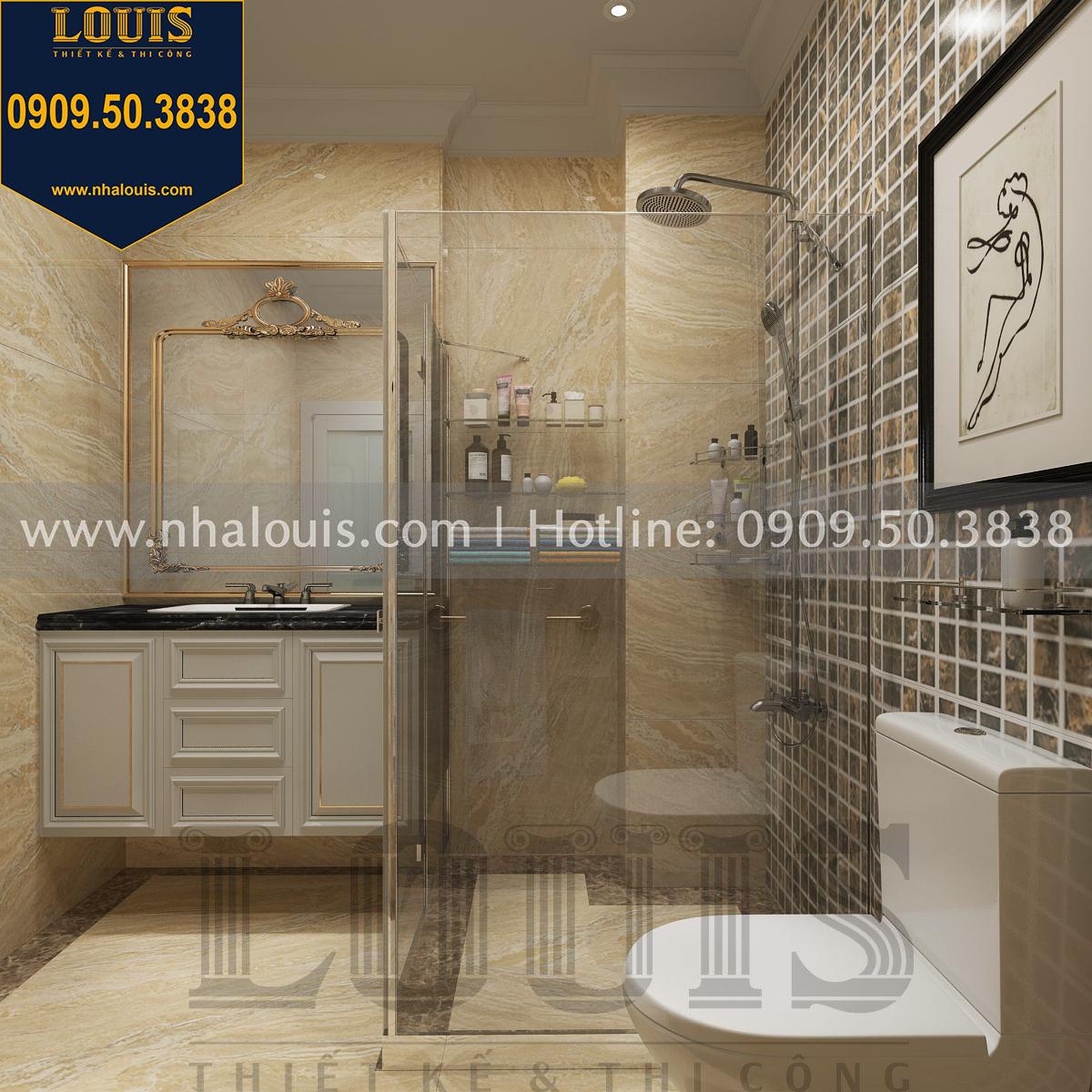 Thiết kế WC phòng ngủ con trai
