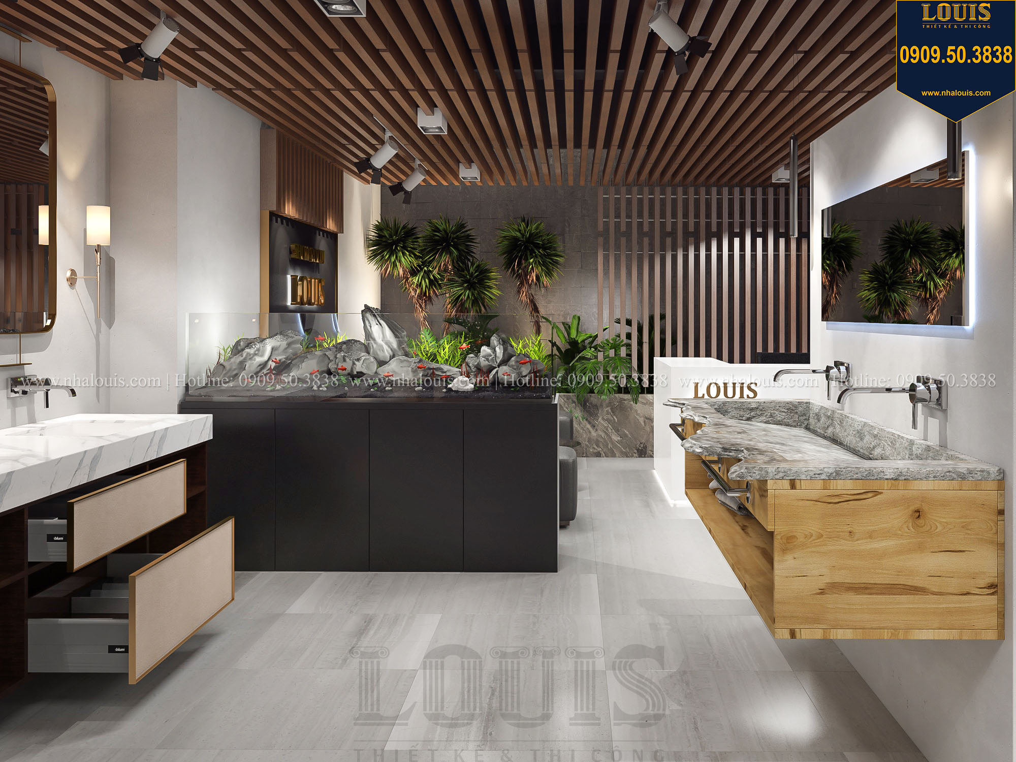 Chuyên thiết kế showroom