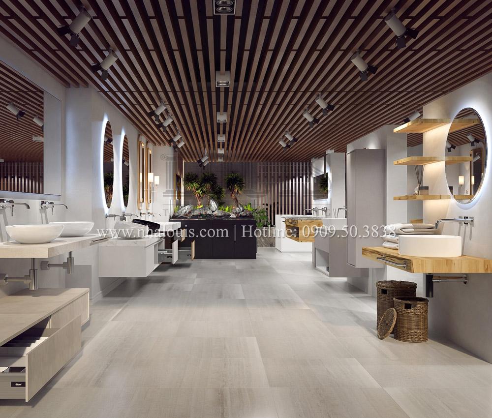 Thiết kế showroom nội thất sang trọng và đẳng cấp tại Củ Chi