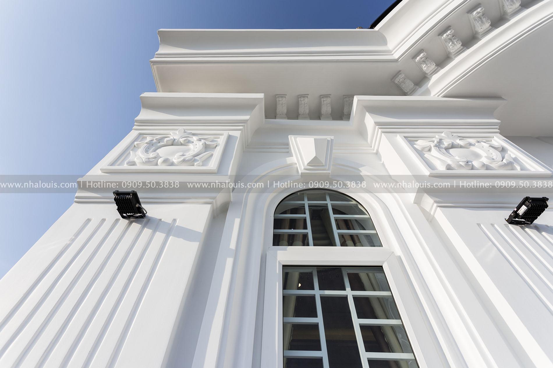 Hoàn thành dự án thi công biệt thự 4 tầng cổ điển đẳng cấp tại Bến Tre