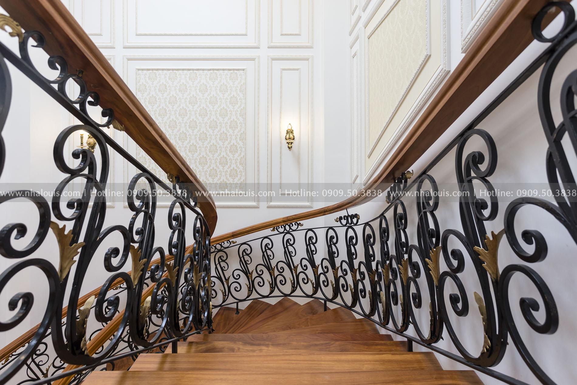 Biệt thự 4 tầng cổ điển đẳng cấp tại Bến Tre- Giải pháp tối ưu diện tích cho người kinh doanh