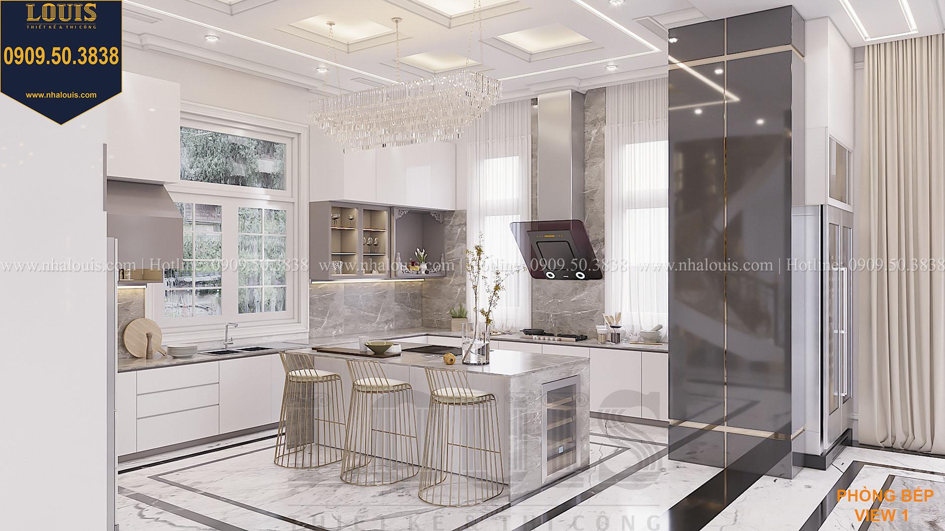 Mẫu thiết kế phòng bếp đẹp