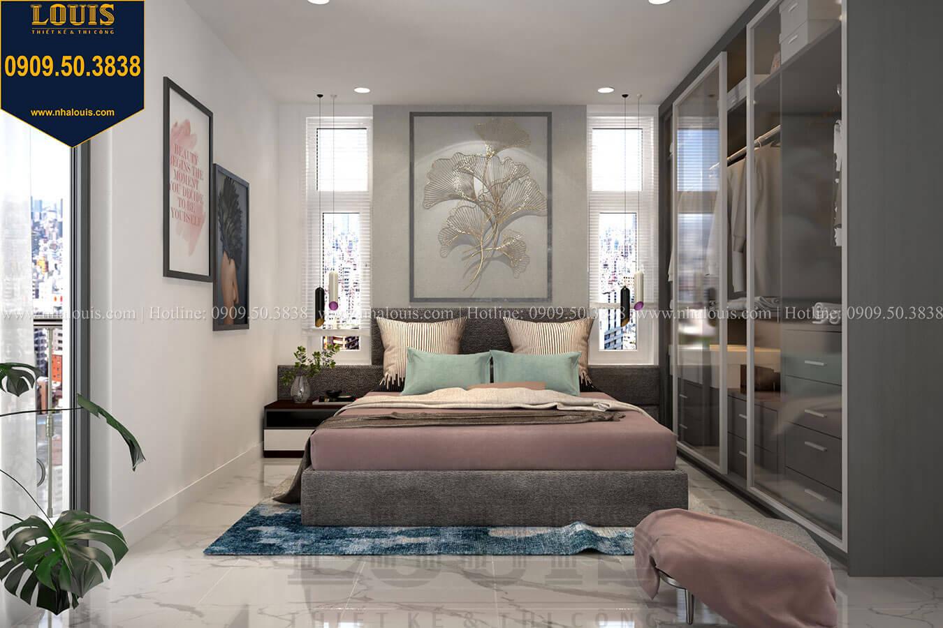 phòng ngủ vợ chồng phong cách hiện đại