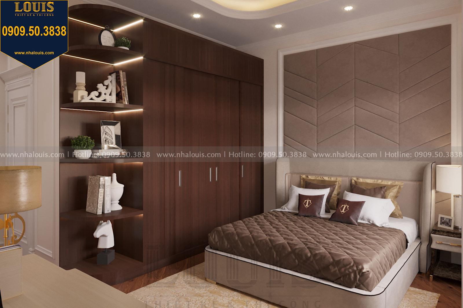 Thiết kế phòng ngủ nhà phố phong cách tân cổ điển