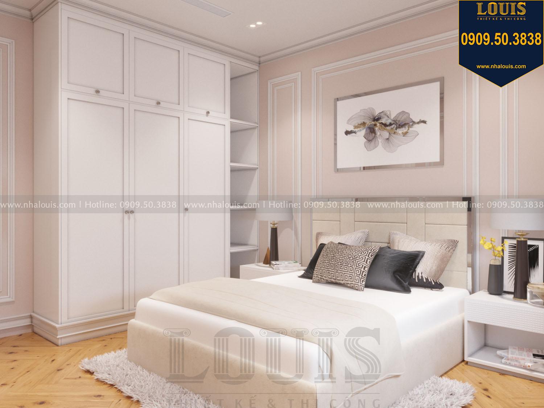 Thiết kế phòng ngủ khách nhà phố phong cách tân cổ điển