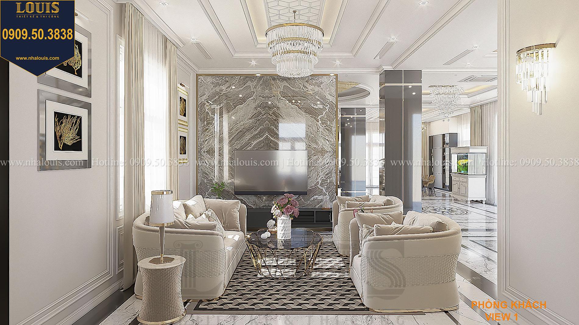 Phòng khách phong cách nội thất Ý