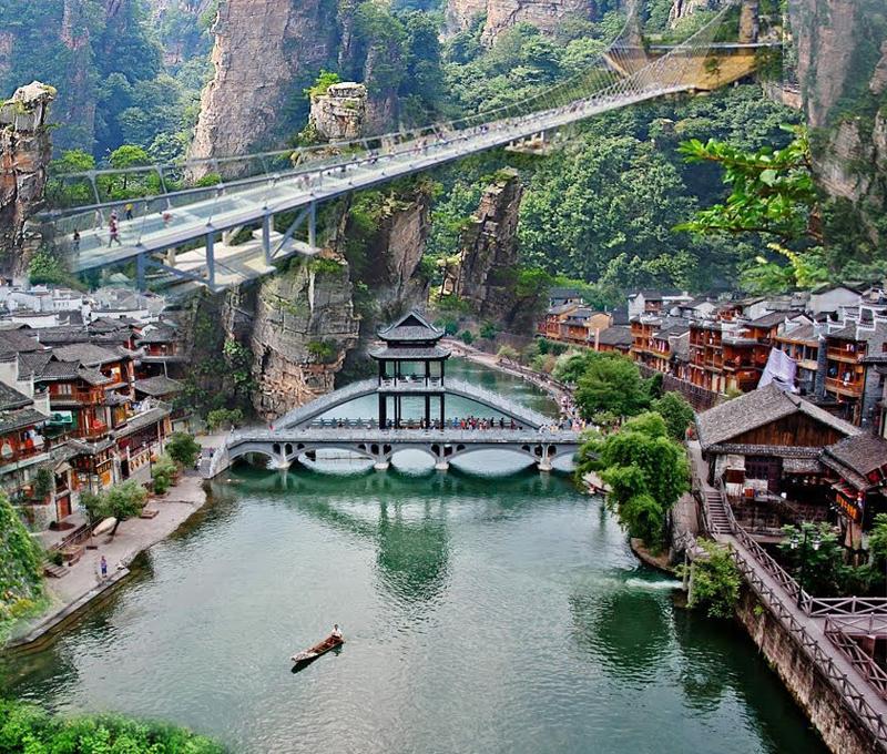 Vi vu Trung Quốc trong 3 ngày- Tha hồ tham quan và mua sắm