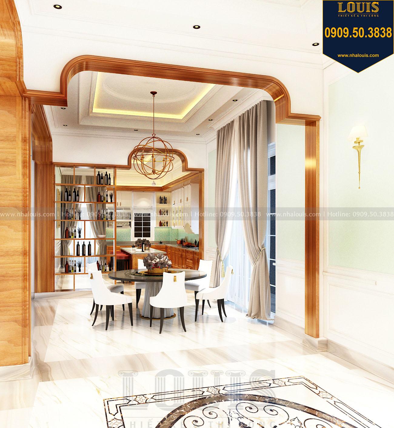 Biệt thự 2 tầng mặt tiền 8m tại Bình Dương - Giải pháp tối ưu cả công năng và thẩm mỹ