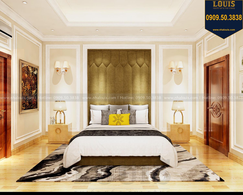 Phòng ngủ master biệt thự 2 tầng mặt tiền 8m