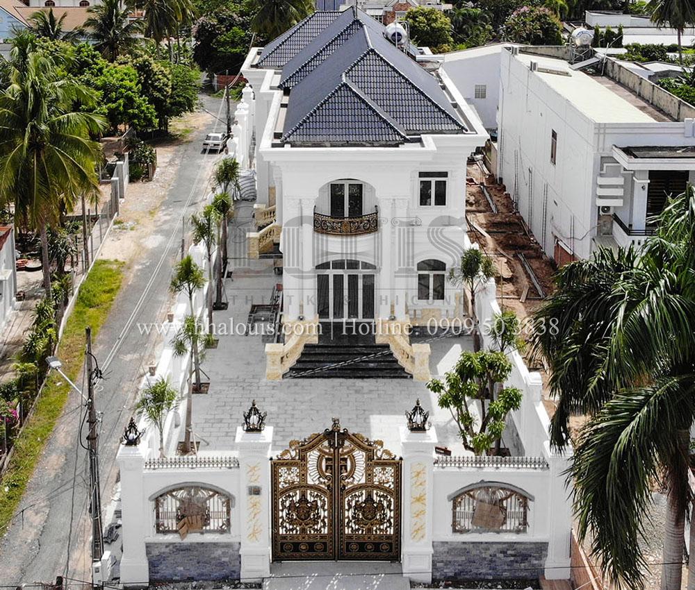 Hoàn thiện biệt thự tân cổ điển 2 tầng tại Tây Ninh [Video]
